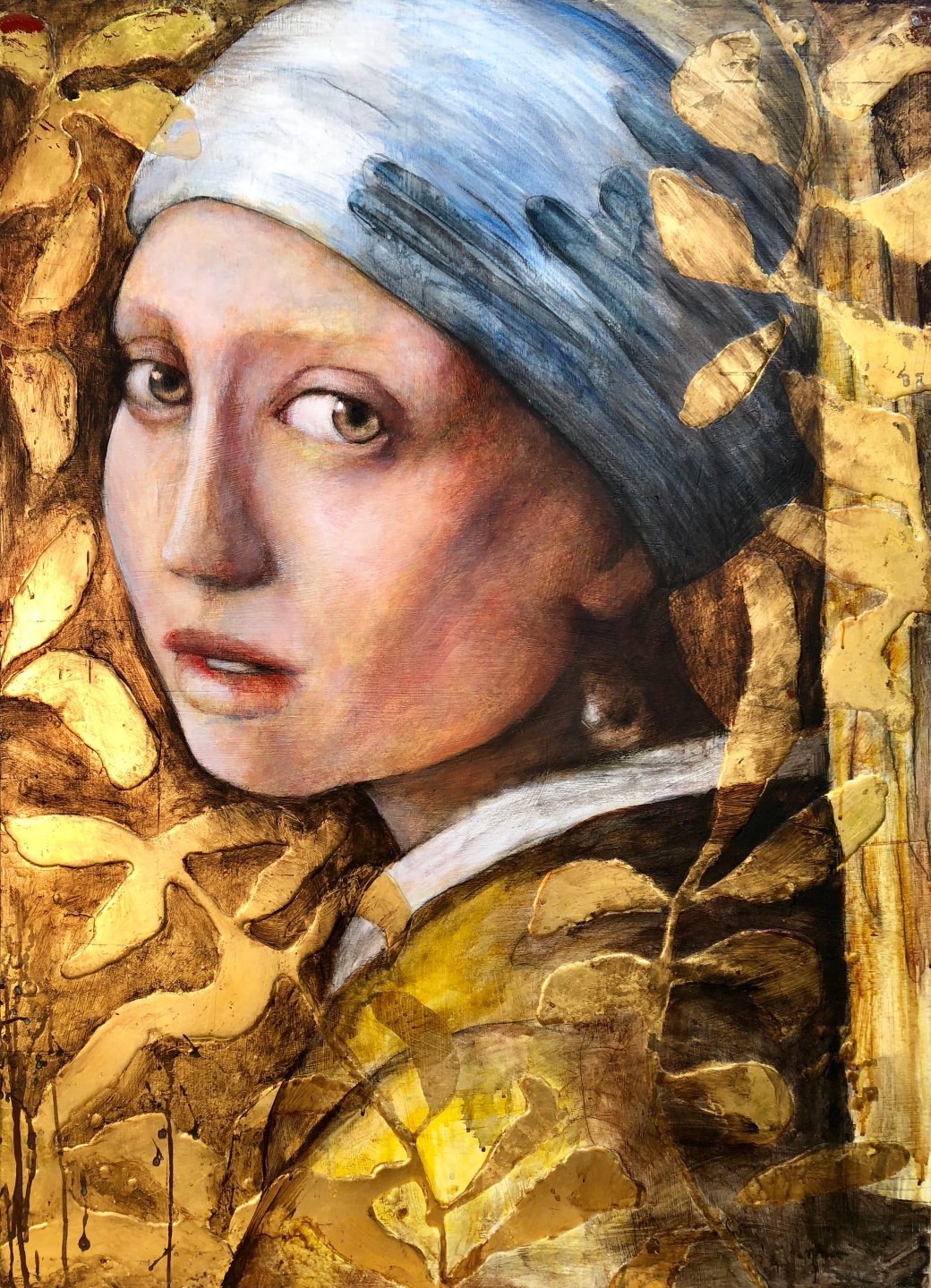 Girl with Pearl Earring 44x32