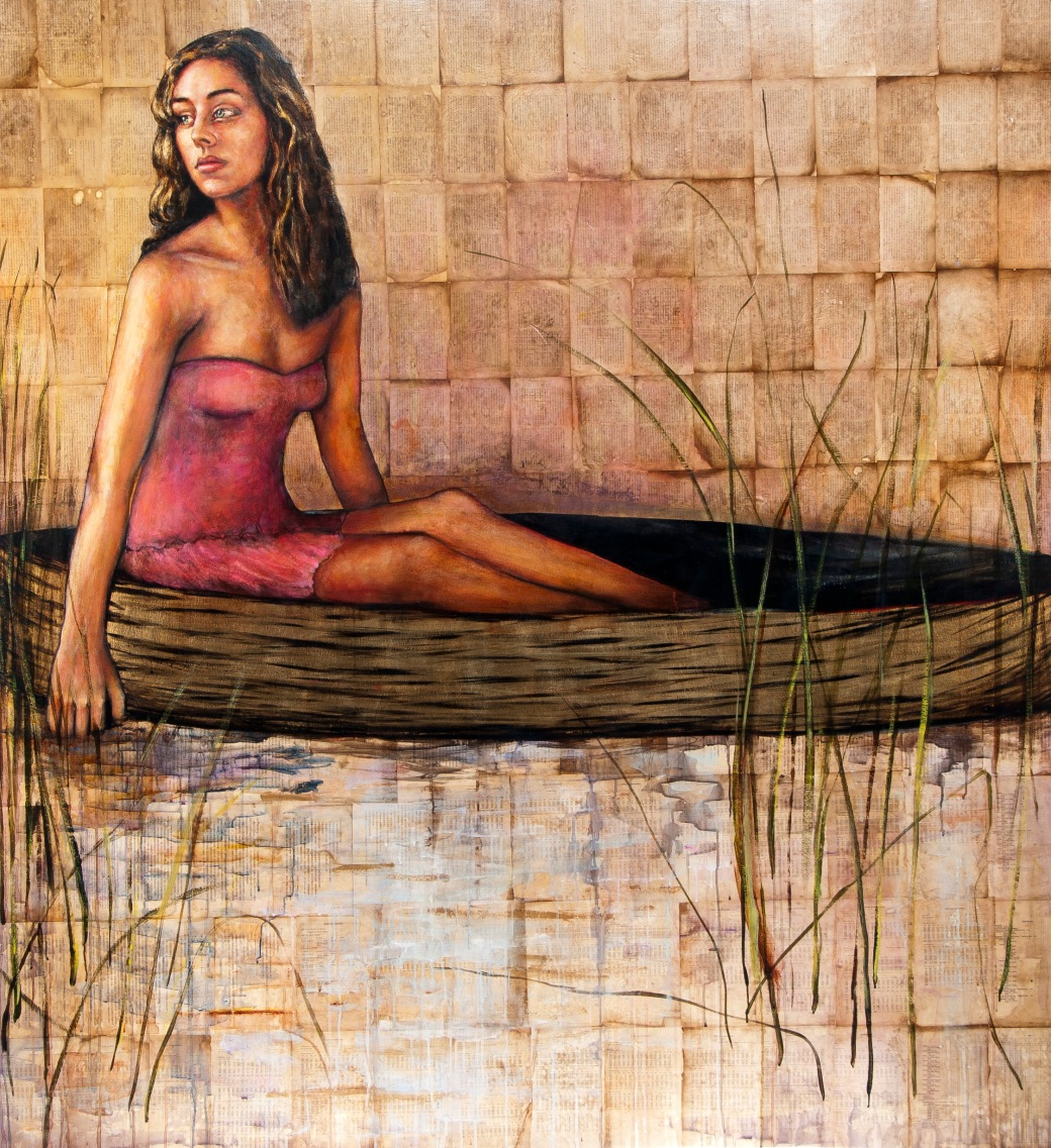 The Reed Gatherer 82x75
