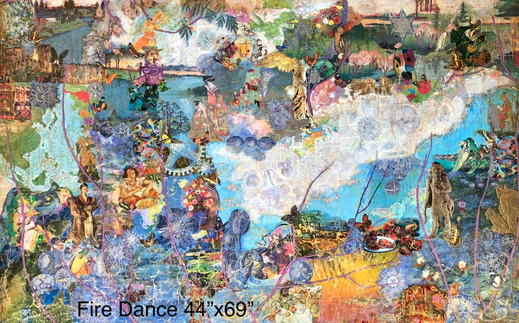 Fire Dance 44x69