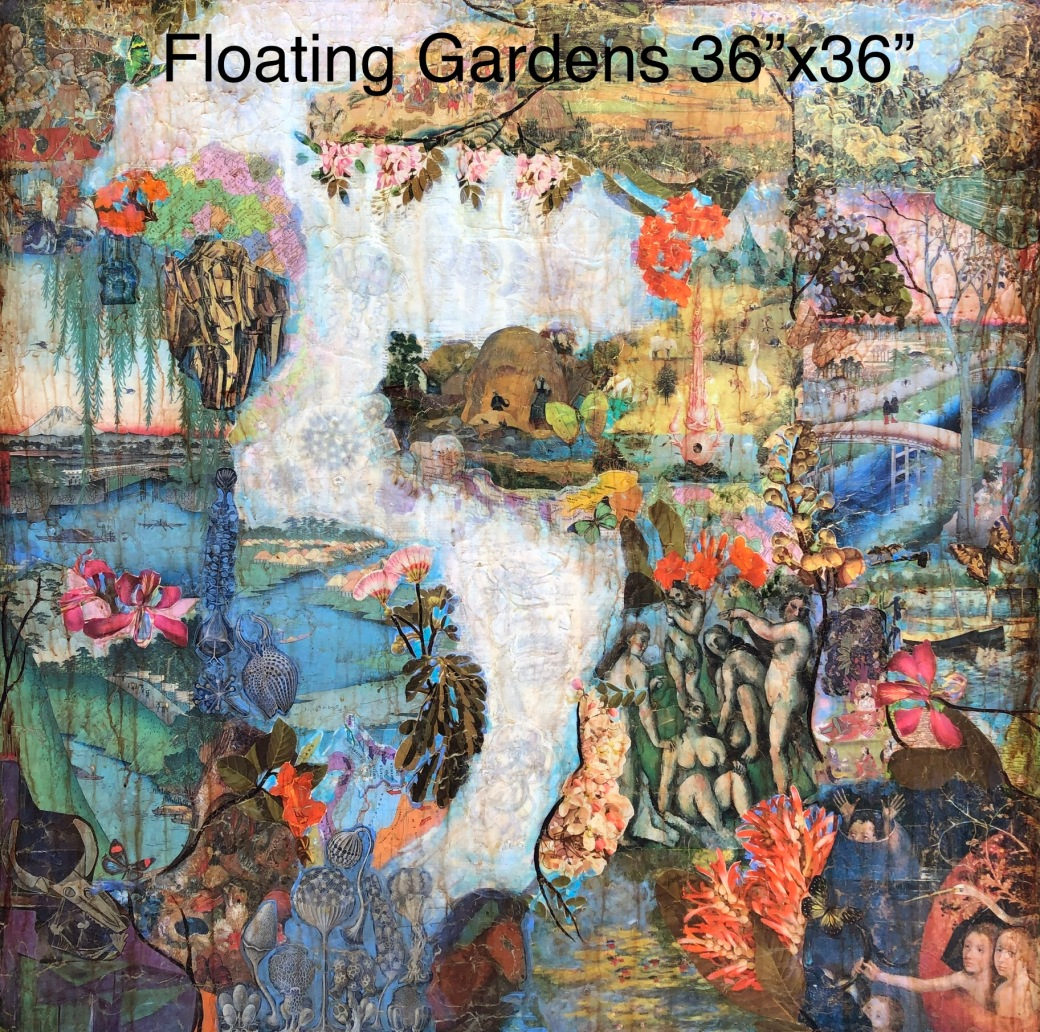 Floating Gardens 36x36
