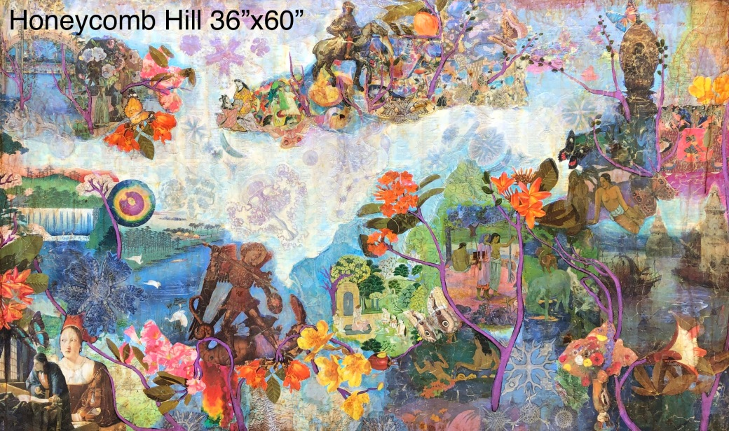 Honeycomb Hill 36x60