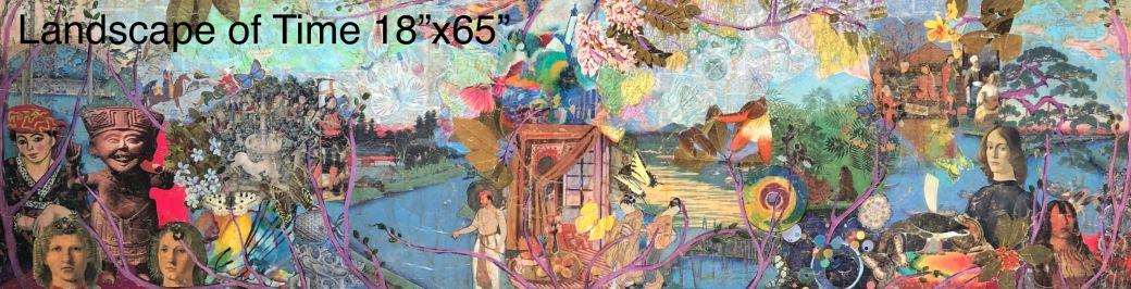 Landscape of Time 18x65