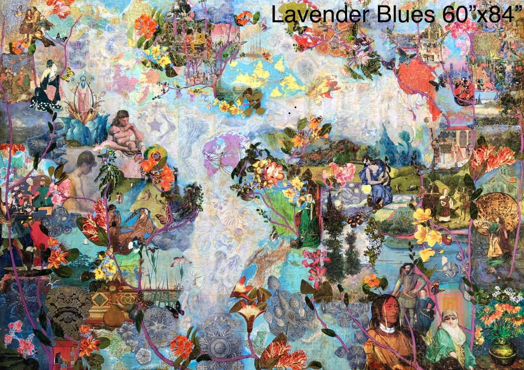Lavender Blues 60x84