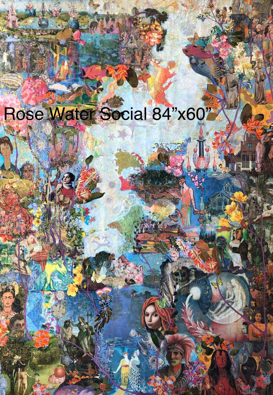 Rose Water Social 84x60