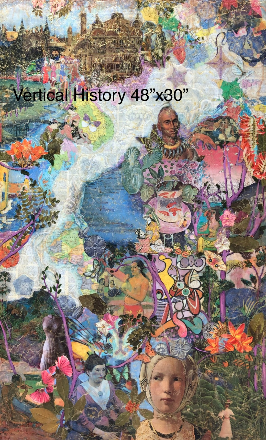 Vertical History 48x30