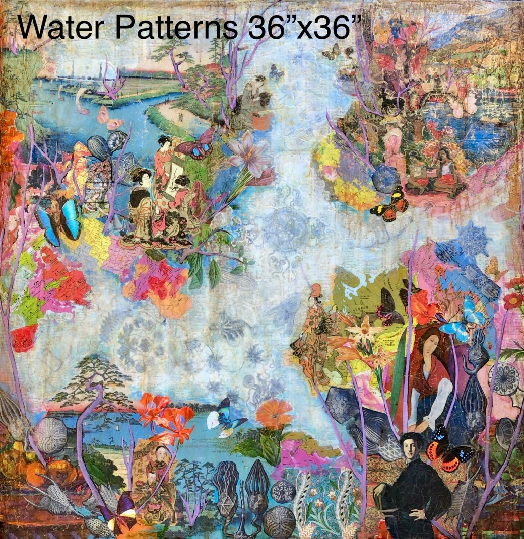 Water Patterns 36x36