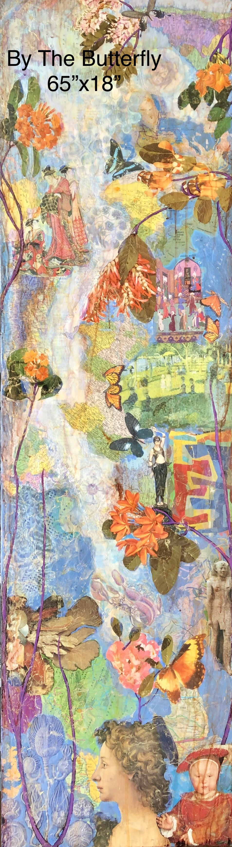 By The Butterfly 65x18